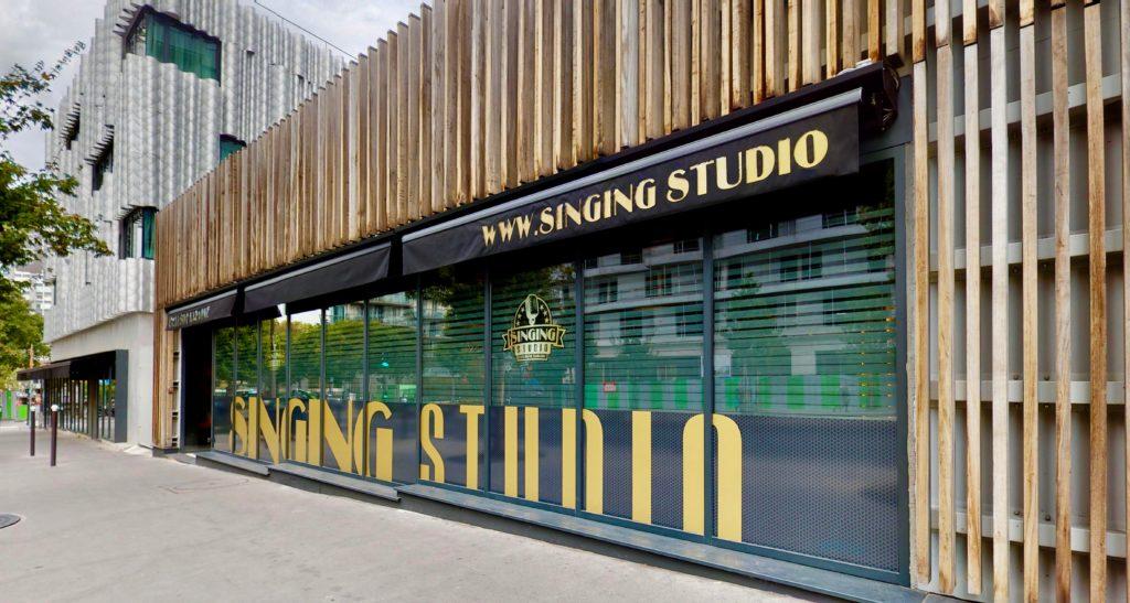 facade singing studio