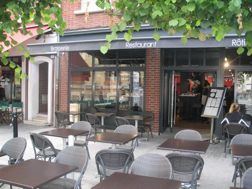 facade - Brasserie de L'Horloge - Amiens