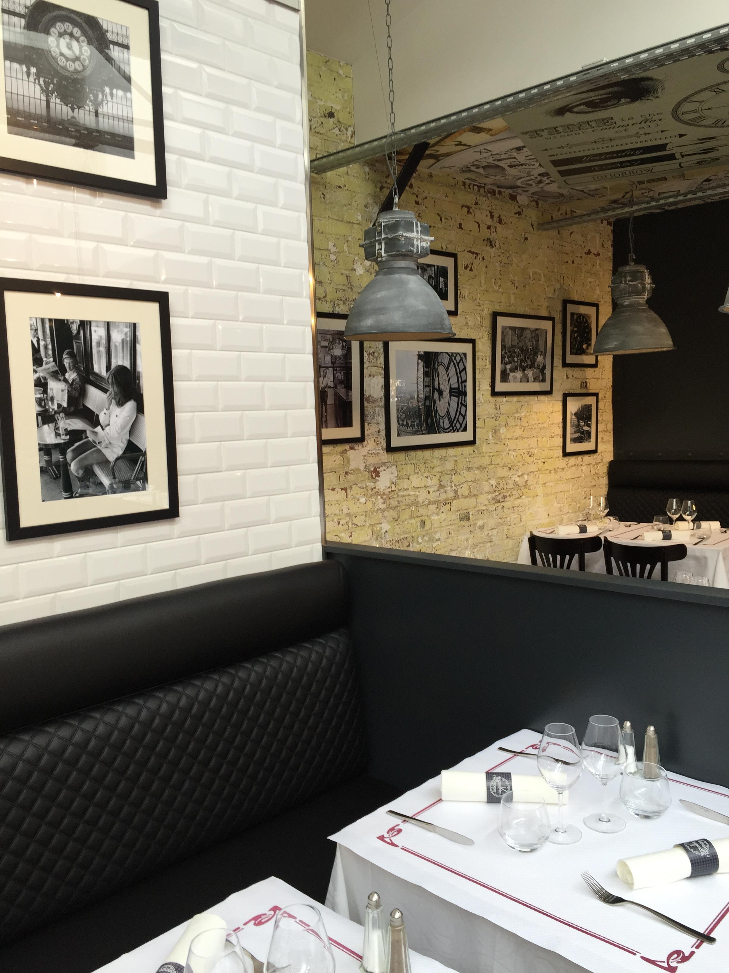 decor - Brasserie de L'Horloge - Amiens